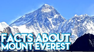 Facts You Might Now Know about Mount Everest