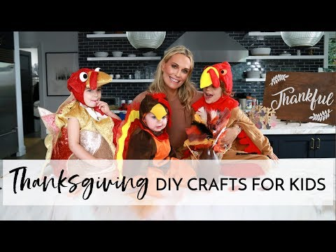 Easy Thanksgiving DIY Crafts for Your Kids