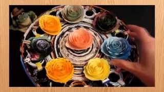 Роза из бумаги своими руками(Пошаговая инструкция как сделать розу из бумаги своими руками. Не забудь поставить лайк и оставить коммент..., 2014-06-13T12:42:51.000Z)