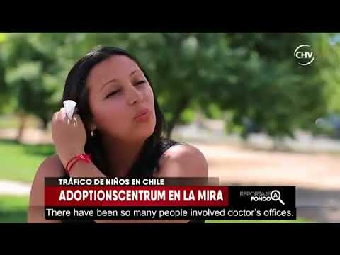 First part of the report on child trafficking in Chile for irregular adoptions