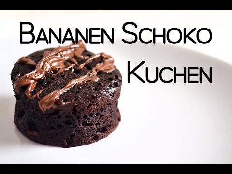 3 Zutaten Bananen Schoko Kuchen 5 Minuten Rezept Youtube