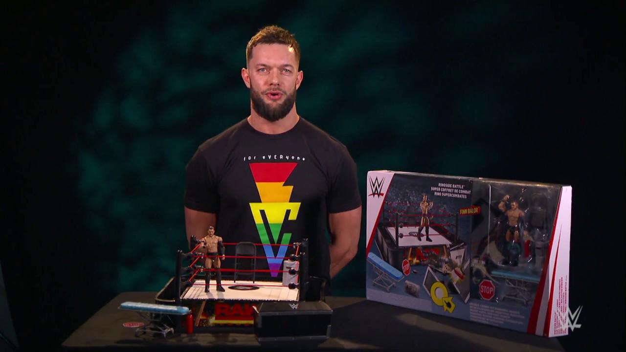 Finn Balor His Wwe Ringside Battle Playset Smyths Toys Youtube