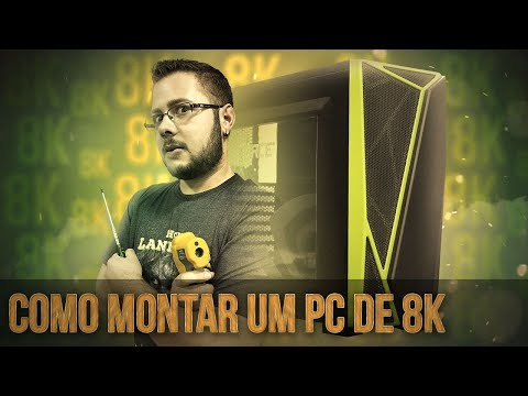 « COMO MONTAR um PC GAMER » Até 8 Mil Reais... Montagem