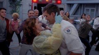 Grey's Anatomy - Matthew Proposes to April dance (9x23) 500 miles