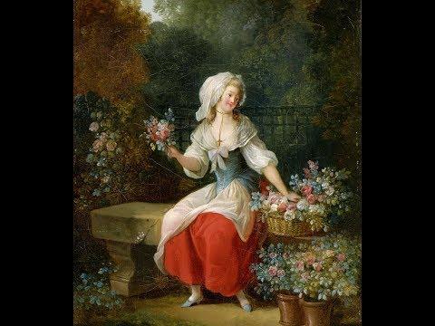 Jean-Frederic Schall (1752 - 1825) French rococo painter ✽ Handel- Menuette