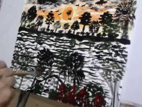 Scape Painting Sai Art Modern