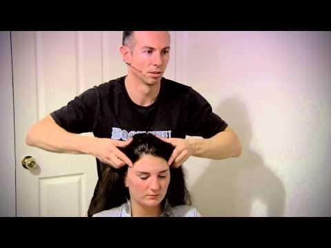 Head Massage with Face, Neck + Shoulder Massage with ASMR Trigger Sounds