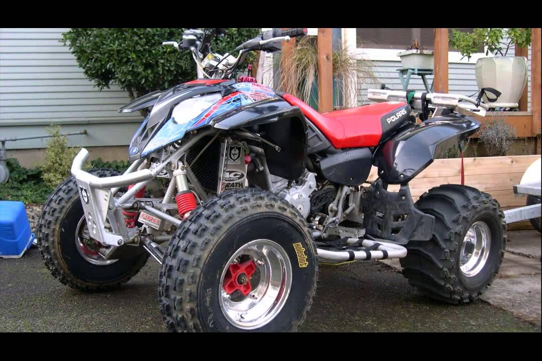 polaris predator 500 - YouTube