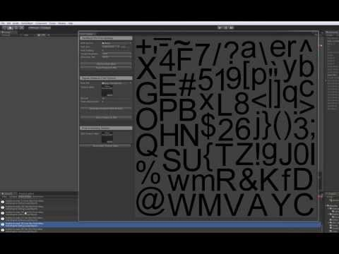 Font Creation Tool Demo
