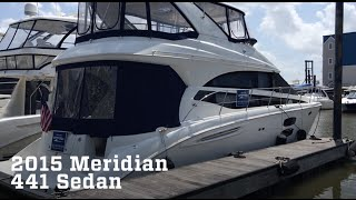 2015 Meridian 441 Sedan Boat For Sale at MarineMax Houston