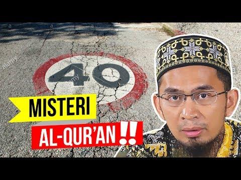 Misteri ANGKA 40 Dalam Al-Qur'an - Ustadz Adi Hidayat LC MA