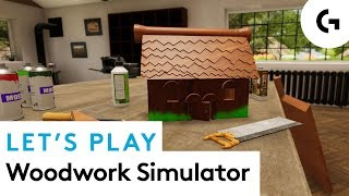 SAW TOO! - Let's play Woodwork Simulator