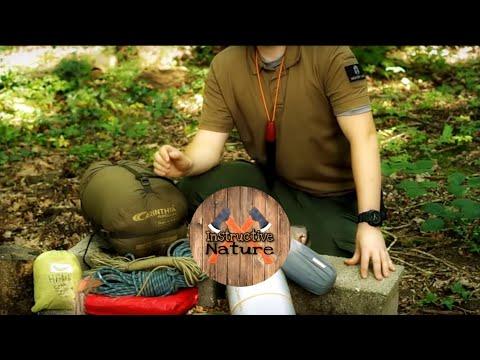 Equipement Bivouac Bushcraft - Setup 2017