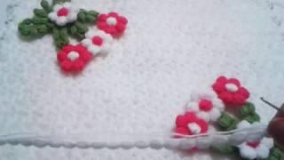 puf çiçekli lif modeli