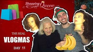 THE REAL VLOGMAS DAY 11🛍 : Shopping Therapy Με Την Γιαγιά Μου (ΤΟΥΤΟΥΛΑ) Ι Τsede The Real