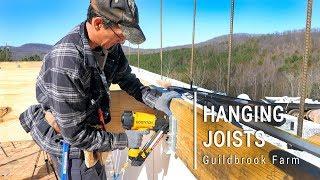 ICF Mountain Homestead: Hanging Floor Joists INSIDE the Walls