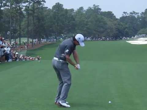 Rory McIlroy Slow Motion Driver Golf Swing – Masters 2012