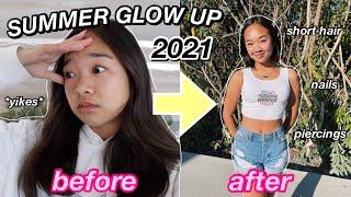 SUMMER GLOW UP 2021 | nails, hair, piercings! Nicole Laeno