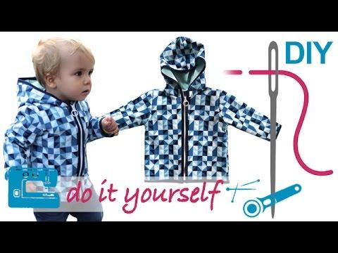 DIY Softshell Jacke mit RV nähen für Anfänger – Grundkurs teilbaren ...