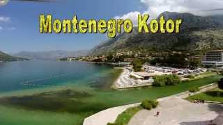 Montenegro Kotor air video from a drone with go pro3