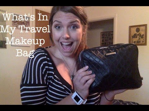 What's In My Travel Makeup Bag Tag | Colorado Kate