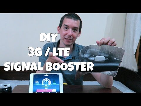 DIY 3G / LTE Signal Booster - Part 1
