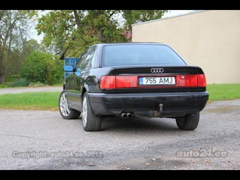 audi 100 c4 flat out acceleration engine sound youtube. Black Bedroom Furniture Sets. Home Design Ideas