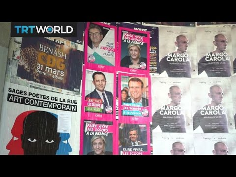French Presidential Election: National front party draws young voters
