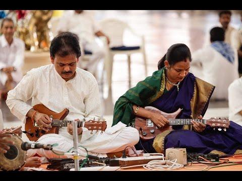 Music program by Sri Mandolin Raju || Aradhana Mahotsavam at Prasanthi Nilayam - 24 Apr 2016
