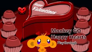 Monkey GO Happy Hearts - Walkthrough
