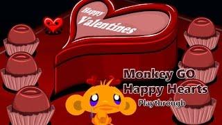 Monkey GO Happy Hearts - Walkthrough