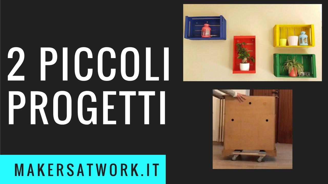 2 semplici progetti cassette decorative carrello for Progetti fai da te legno pdf