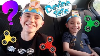 VLOG - DESTINATION SURPRISE - DEVINE TÊTE & HAND SPINNERS FREESTYLE en VOITURE