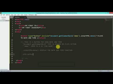 #1 MY FIRST  JAVASCRIPT  | javascript tutorial for beginners thumbnail