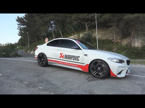 BMW M2 Akrapovic Exhaust - LOUD Revs, Onboard Ride & Acceleration Sound!