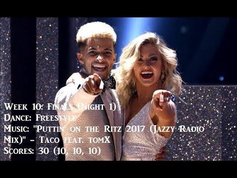 Jordan Fisher - All Dancing With The Stars Performances