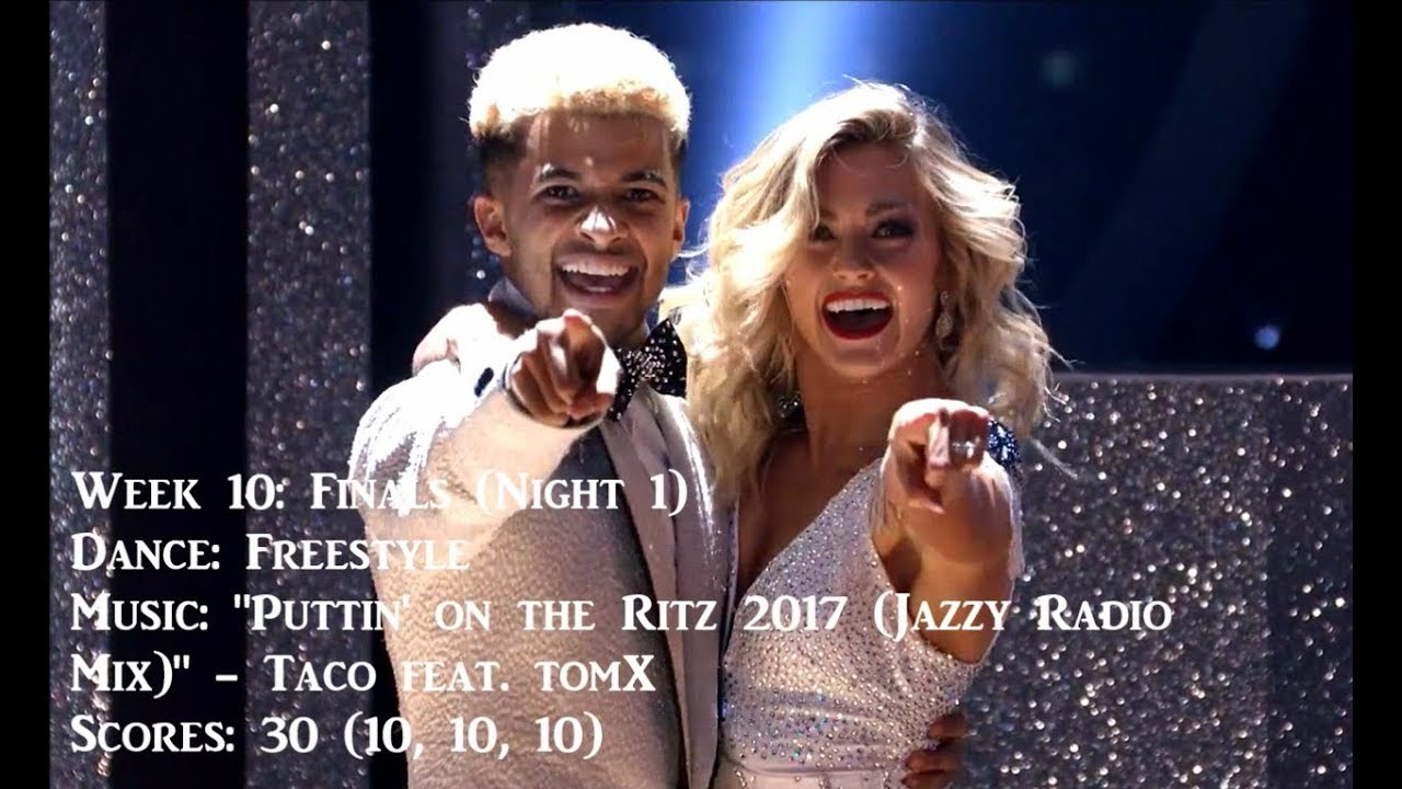 ???? Jordan Fisher - All Dancing With The Stars Performances