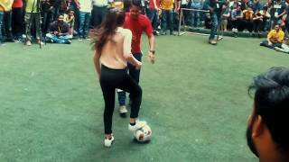 Lisa Zimouche ● World Panna Female Champion ● Freestyle Skills at Pillai
