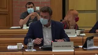Intervention de Frédéric Bourdon au sujet du budget 2021 (3)