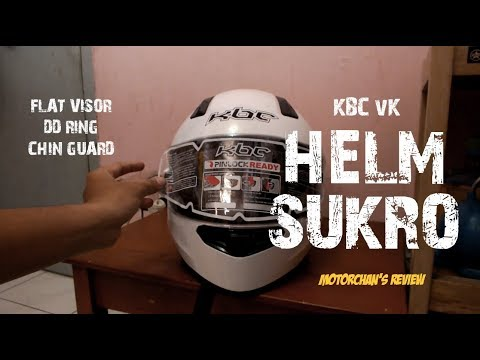#22 Unboxing & Review Helm KBC VK-Solid! | Si Panas tapi Nyaman