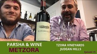 Parshat Metzora - Tzora Vineyards Judean Hills | Parsha & Kosher Wine Ep. 75