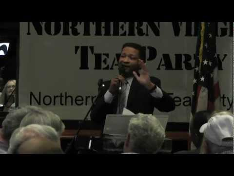 Artur Davis Adresses NOVA Tea Party 1 of 5