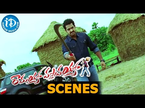 Ramayya Vasthavayya - N. T. Rama Rao Jr. fights for Shruti Haasan || Samantha