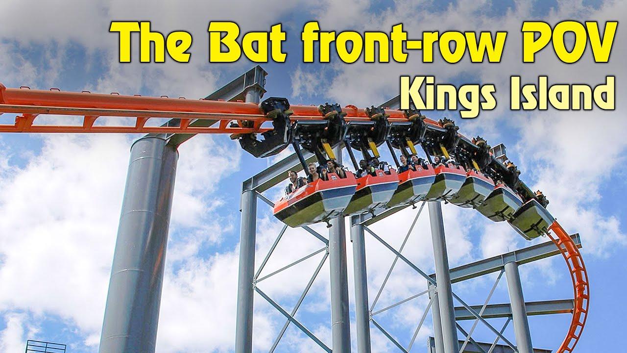 The Bat Front-Row POV at Kings Island