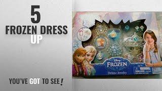 Top 10 Frozen Dress Up [2018]: Disneys Frozen Deluxe Jewelry Kit