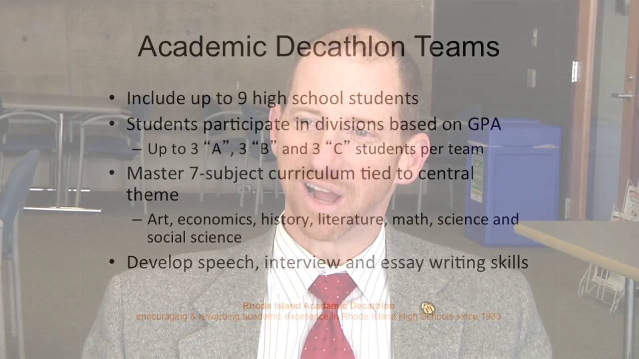 Rhode Island Academic Decathlon