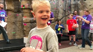 Crazy Kids Climbing Competition