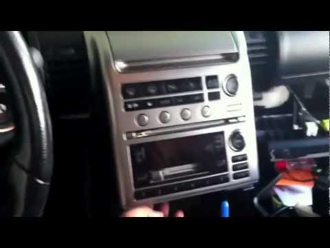 G35 Radio Removal