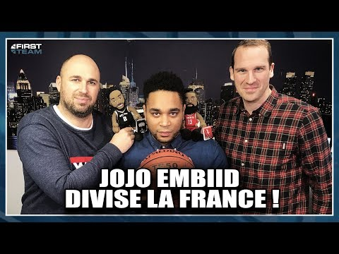 JOJO EMBIID DIVISE LA FRANCE ! NBA First Day Show #36