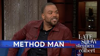 Method Man Doesn't Turn Off 'Rapper Mode' For Auditions